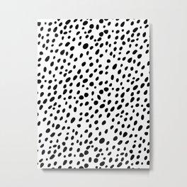 Dalmatian Spots Metal Print