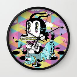 No Training Wheels Required Wall Clock
