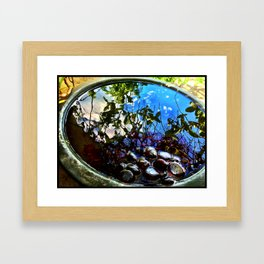 Reflection Pool Framed Art Print