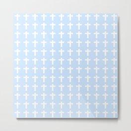 Christian Cross 32 Metal Print