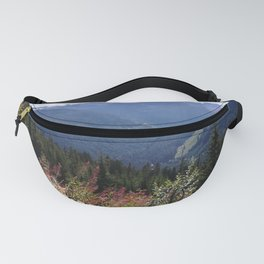 Serenity of the mountains Fanny Pack