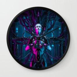 The Quantum Zen Queen Wall Clock
