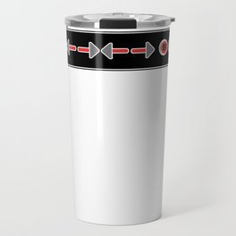 Konami Code Travel Mug