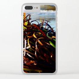 Sea Grass on the Beach Clear iPhone Case