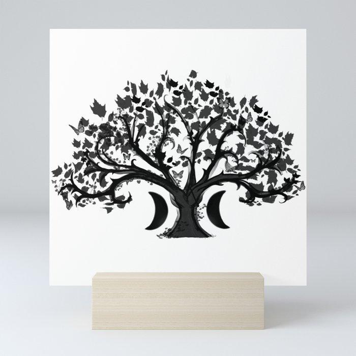 The Zen Tree Mini Art Print