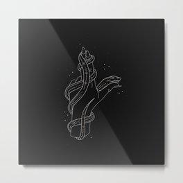 Rose - Illustration Metal Print