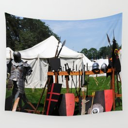 Medival Camp Wall Tapestry