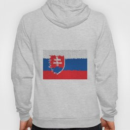 Extruded flag of Slovakia Hoody