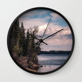 Breathe Again Wall Clock