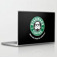 coffe Laptop & iPad Skins featuring SW Coffe by ismaeledits