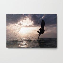Kite surfing IV Metal Print