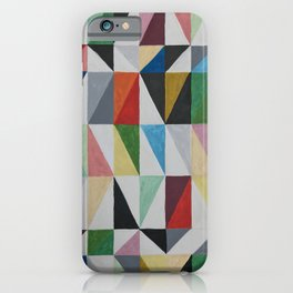 Triangle Grid iPhone Case
