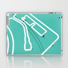 Neon Turntable 3 - 3D Art Laptop & iPad Skin