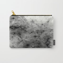 Space Without Colour - Black And White Painting Carry-All Pouch