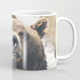 Geometric Bear Coffee Mug
