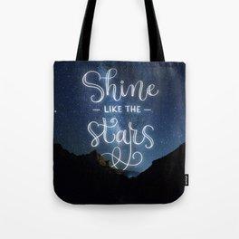 Shine like the Stars Tote Bag