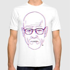 Walter White White SMALL Mens Fitted Tee