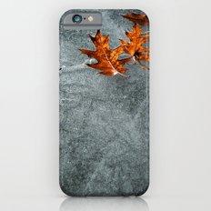 Autumn Leaves on Ice Slim Case iPhone 6s