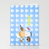 chef Stationery Cards featuring Chef by Alapapaju