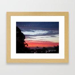Freycinet Sunset Framed Art Print