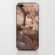The King of the Road iPhone & iPod Skin