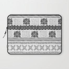 Mud Cloth Geometric Stripe Laptop Sleeve