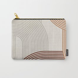 Mid Century Line Art I Carry-All Pouch