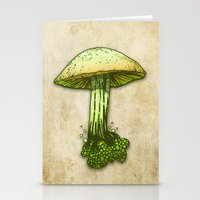 pie Stationery Cards featuring Poison Pie by KadetKat