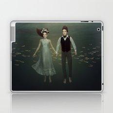 Underwater Couple Laptop & iPad Skin