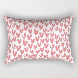 Little Hearts - sweet heart Rectangular Pillow