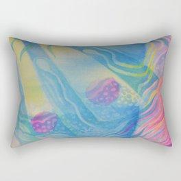 Ocean abstraction #1 Rectangular Pillow