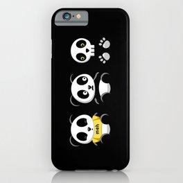 Little Pandas in the Dark iPhone Case