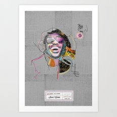 Stevie Wonder Art Print