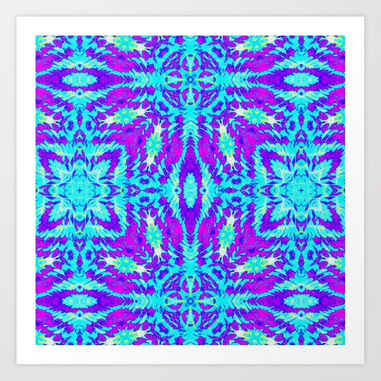 Geometrick Art Print
