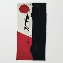 Nation Series: Japan - 2000 GT Beach Towel