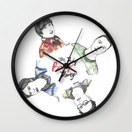 fanart The Big Bang Theory Wall Clock