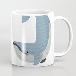 Whimsy Blue Whale Coffee Mug