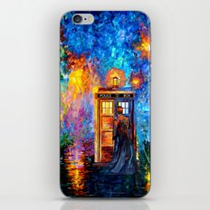 The 10th Doctor who Starry the night Art painting iPhone 4 4s 5 5c 6 7, pillow case, mugs and tshirt iPhone Skin