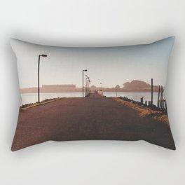 Fishing Dock-Film Camera Rectangular Pillow