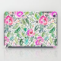 oakland iPad Cases featuring Hibiscus Frolic by Barbarian // Barbra Ignatiev