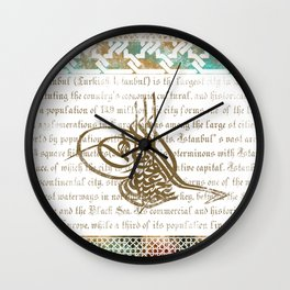 OTTOMAN Wall Clock
