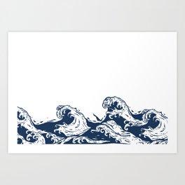 This old Sea  Art Print