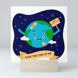 Earth Day Mini Art Print