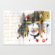 The La the Blah Canvas Print