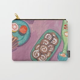 Let's do brunch - breakfast print Carry-All Pouch