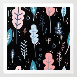 Garden Patten Art Print