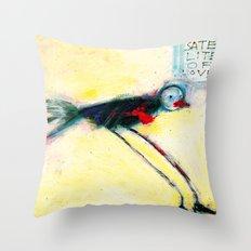 SATELLITE OF LOVE Throw Pillow