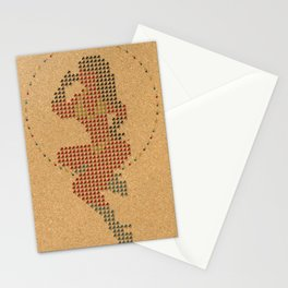 Push Pin Up Stationery Cards