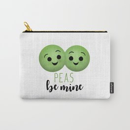 Peas Be Mine Carry-All Pouch