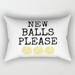 Tennis Player Game Sports Tennisball Gift Idea Rectangular Pillow